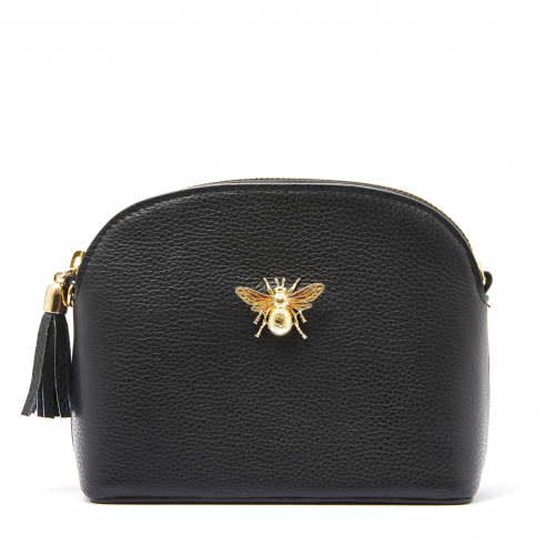 The Margot Queen Bee Handbag - Black