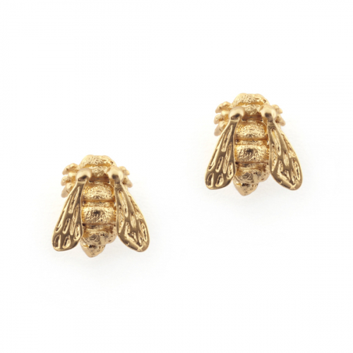 Baby Bee Studs Gold