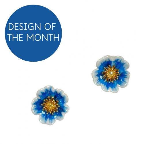 Winter Rose Studs