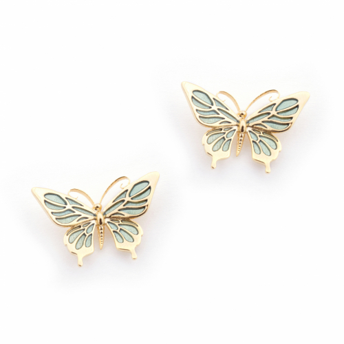 Butterfly Stud - Mint
