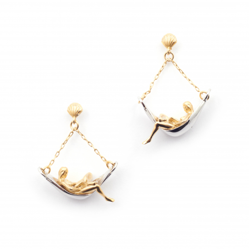 Hammock Girl Earrings