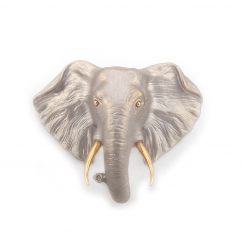 Elephant Statement Brooch