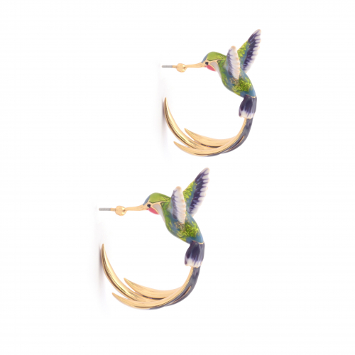 Bird of Paradise Hoops