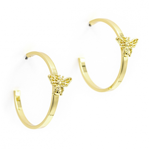 Queen Bee Statement Hoops