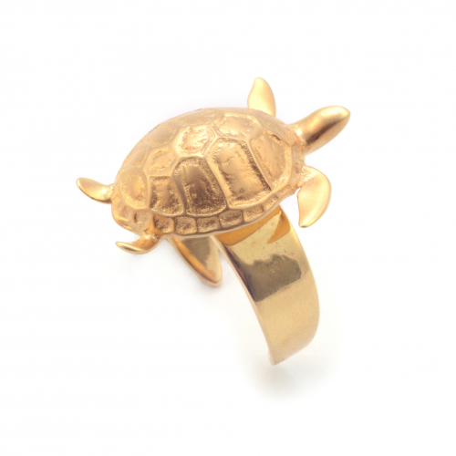 Turtle Open Ring