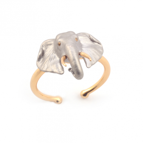 Elephant Open Ring