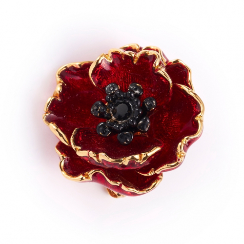 The Poppy Brooch