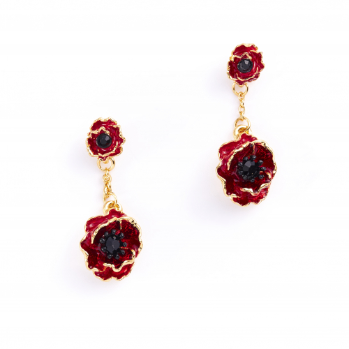 The Poppy Drop Earrings