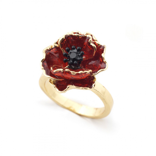 The Poppy Ring - Large Size Only