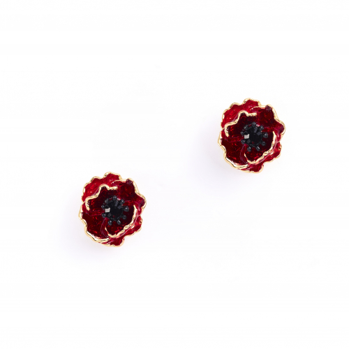 The Poppy Stud Earrings