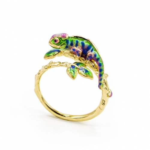 Chameleon Open Ring