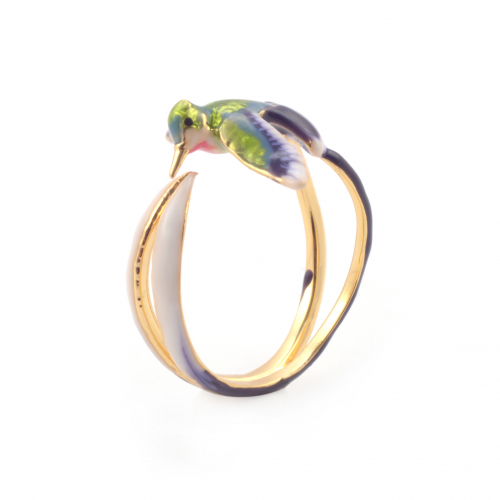 Bird of Paradise Open Ring