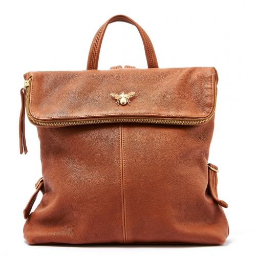 The Queen Bee Backpack - Tan