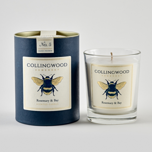 Queen Bee Candle - Rosemary & Bay