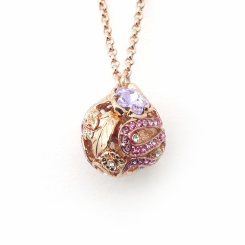 Mini Botanical Pendant - Rose Gold