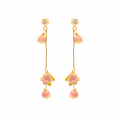 Alternate Image For Cherry Blossom Multi Drop Earrings