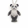 Alternate Image For Panda Crystal Necklace