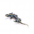 Alternate Image For Bejewelled Lizard Brooch