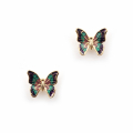 Alternate Image For Butterfly Stud Large