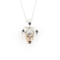 Alternate Image For Skull Jesters Pendant
