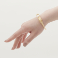 Alternate Image For Beetle Bangle - Gold