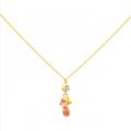 Alternate Image For Cherry Blossom Drop Bud Necklace