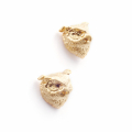 Alternate Image For Owl Stud Earrings - Gold