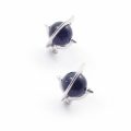 Alternate Image For Astro Micro Orb Stud Earrings