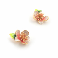 Alternate Image For  Apple Blossom Studs