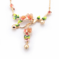 Alternate Image For Apple Blossom Statement Necklace