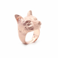 Alternate Image For Fox Statement Ring - Rose Gold