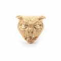 Alternate Image For Owl Statement Ring - Gold