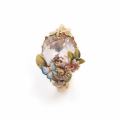 Alternate Image For Scenes of Nature Ring - Vintage Rose
