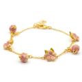 Alternate Image For Cherry Blossom Charm Bracelet