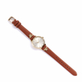 Alternate Image For Queen Bee Leather Watch - Tan