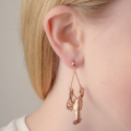 Alternate Image For Lobster Earrings