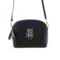 Alternate Image For The Bejewelled Beetle Leather Handbag