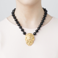 Alternate Image For Lion Statement Necklace