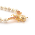 Alternate Image For Queen Bee Statement Necklace - Pearl