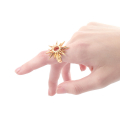 Alternate Image For Starburst Ring - Gold
