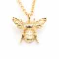 Alternate Image For Mini Queen Bee Pendant