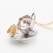 Alternate Image For Tea Party Cup & Saucer Pendant - Bee