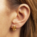 Alternate Image For Cherub & Trumpet Stud Earring