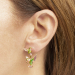 Alternate Image For Double Hummingbird Through Earring