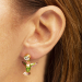 Alternate Image For Hummingbird Through Earring