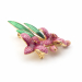 Alternate Image For Orchid Brooch