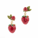 Alternate Image For Strawberry Statement Drop Earring