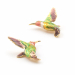 Alternate Image For Large Hummingbird Stud