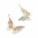 Alternate Image For Butterfly Statement Earrings