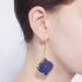 Alternate Image For Arabesque Filigree Earrings - Lapis